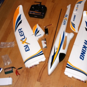 Aufbau Flugzeug – 7 Tage FPV / Tag 2