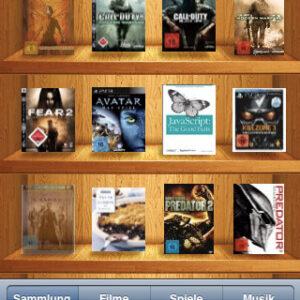 Fantastic Library – Deine Mediensammlung in deiner Tasche