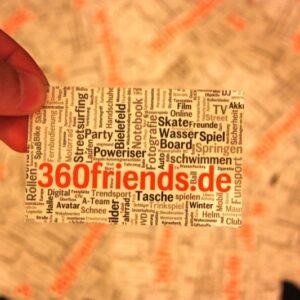 Flyer im Visitenkarten Format