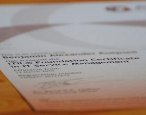 ITIL V3 Foundation: Zertifizierung im Selbststudium ohne Vorkenntnisse