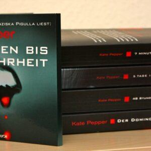 Kate Pepper – Albtraum zwischen zwei Buchdeckeln