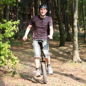 Offroad-Einrad – Erste Meter…