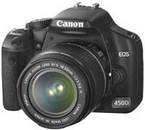Ansicht der Canon EOS 450D (Quelle: canon.de)
