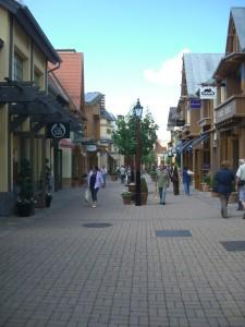 """Die """"Straßen"""" von Wertheim Village"""