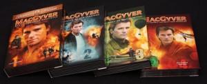 MacGyver 1-4 Boxen