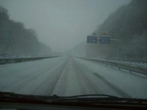 Hinfahrt nach Winterberg: kritisch