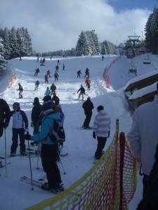 Volle Pisten in Winterberg