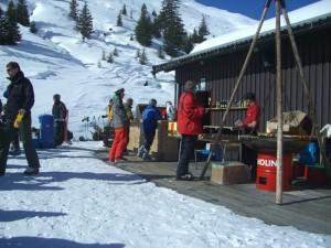 Schneebar Alp Ruschein