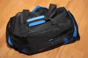 Mitgelieferte Tasche