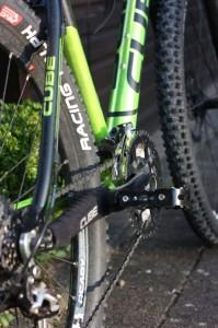 Fahrrad Kette mit Kettenschutz