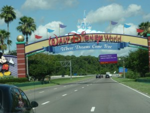 Willkommen in Disney World