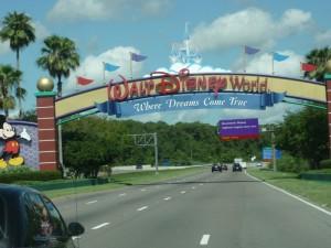 Willkommen in Disney World