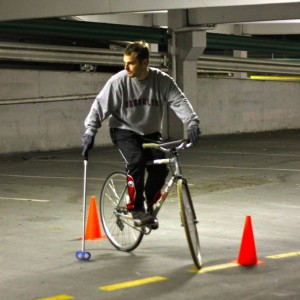 Bike Polo Torhüter
