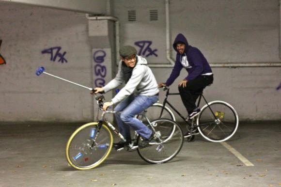 Jede Menge Fun beim Bike Polo
