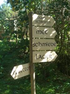 Orientierung im Mittelalter. Nix GPS ;)