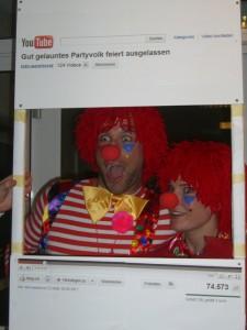 Clowns im Youtube Video