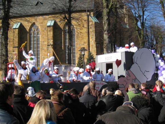 Harsewinkel Karnevalsumzug - Die Köche vom KCCF