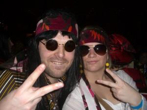 Hippies bei der Prunksitzung