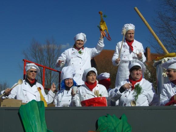 Karnevalswagen vom KCCF