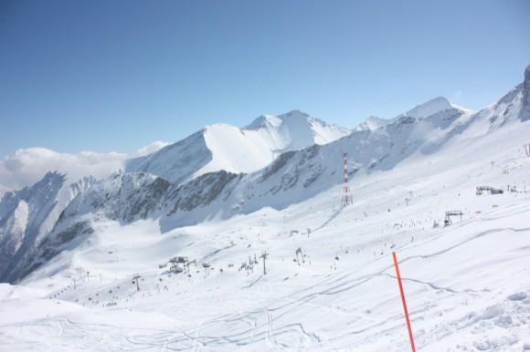 Bestes Wetter und gute Schnee Bedingungen in Kaprun/Kitzsteinhorn