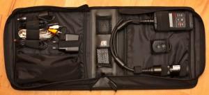Lieferumfang: Tasche der AC Pro1 HD Cam