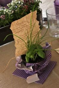 Tisch- & Speisekarte