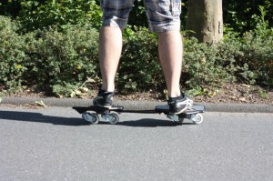 RipSkate mit Trainingbar