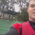 Betriebsausflug zum Wasserski fahren