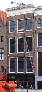Prinsengracht 263. Hier hatte Otto Frank seine Firma