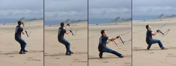 Dakota Kite in Action