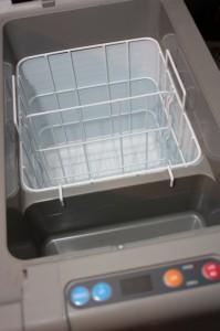 Stauraum der Kühlbox