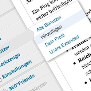 Viel zu selten werden Benutzer angelegt? Gastblogger suchen!