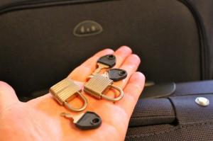Die Schlößer schützen vor dem Griff in den Koffer