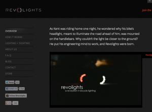 Revolights Webseite revolights.com