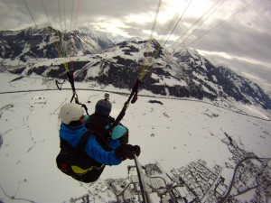 Paragliden in Zell am See