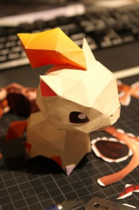 Papercraft Pokemon
