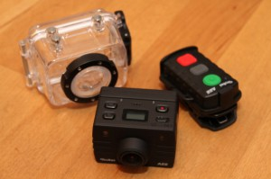 Rollei S5 mit Fernbedienung und Unterwassergehäuse