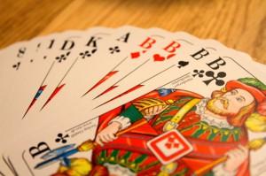 Es reicht ein einfaches Skat Karten Spiel