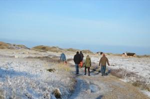 Dänemark Winterlandschaft