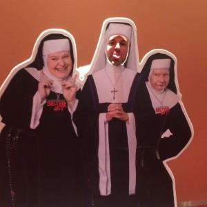 Ich mit Nonnen :)