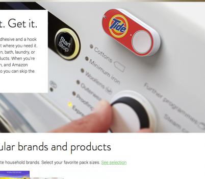 Beispiele Dash Button - Quelle: https://www.amazon.com/oc/dash-button