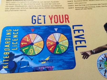 Kiteboarding Licence auf Stufe 3
