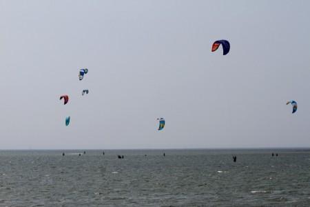 Kiten auf Fehmarn