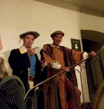 Gaukler & Narren beim Rittergelage Sparrenburg