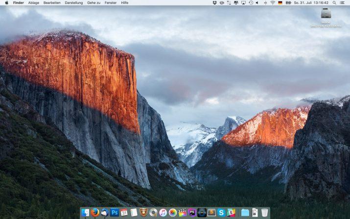 Mein Desktop...
