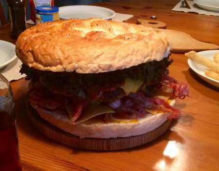 Fertiger Hamburger!!