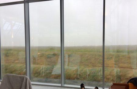 Aussicht bei regen
