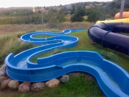 Wildwasser-Rutsche