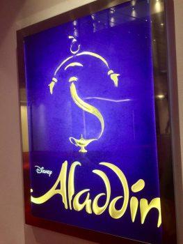 """Aladdin Plakat """"Neue Flora"""""""