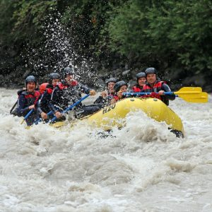 Rafting im Inntal